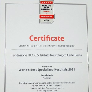 "Classifica Newsweek ""World's best specialized hospitals 2021"""